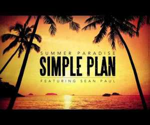 paradise, summer paradise, and simple plan image