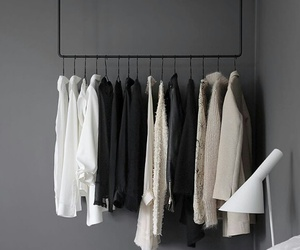 clothes, minimalist, and white image