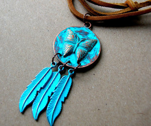 dream catcher, necklaces, and etsy image