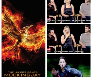 funny, Jennifer Lawrence, and the hunger games image