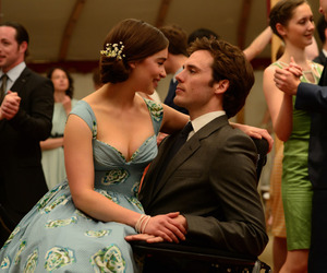 me before you, couple, and sam claflin image