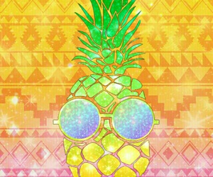 background and pineapples image