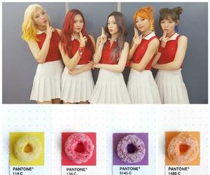 orange hair, red hair, and red velvet image