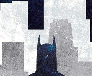 batman, blue, and iphone image