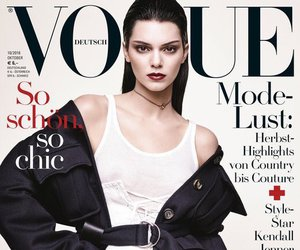 kendall jenner, vogue, and model image