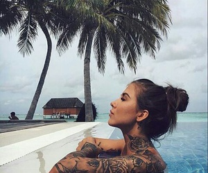 tattoo, girl, and Tattoo Designs image