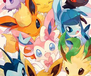 pokemon, eevee, and anime image