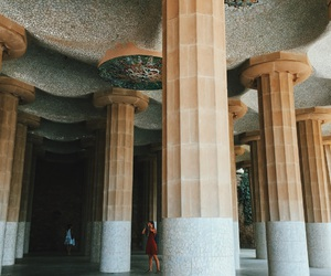 Barcelona, parc guell, and day image