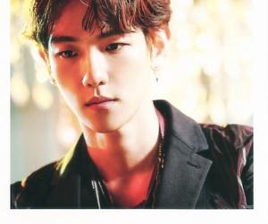 baekhyun, exo, and lotto image