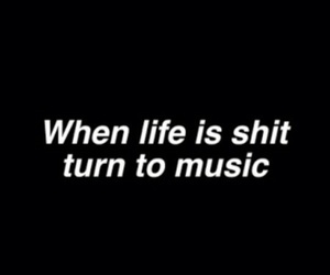 aesthetic, black, and music image