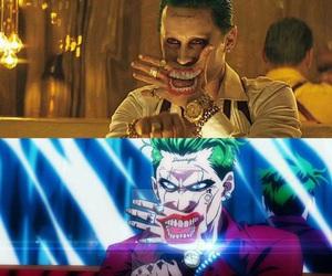 joker, jared leto, and suicide squad image