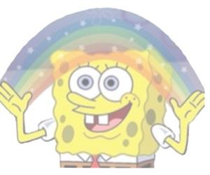 overlay, transparent, and rainbow image