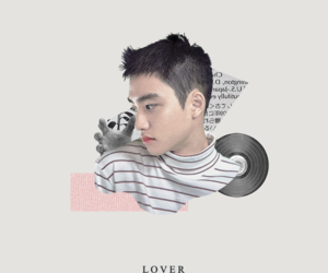 exo, pastel, and d.o image