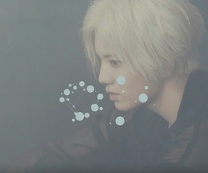 blonde, sungjong, and handsome image