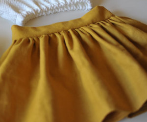 clothing, linen, and mustard image