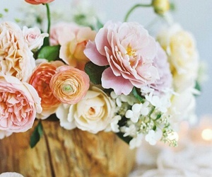 bouquet, bride, and coloured image
