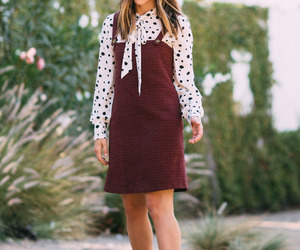 dress, lauren conrad, and fall image