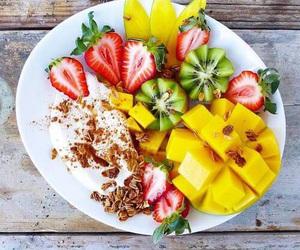 healthy, kiwi, and pineapple image