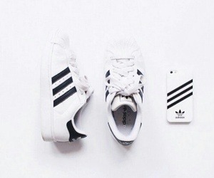 adidas and white image