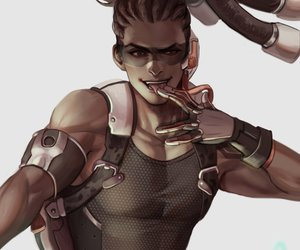 game, art, and overwatch image