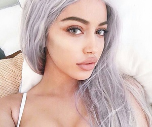 beautiful, eyebrows, and goals image