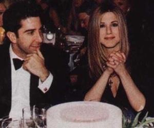 couples, David Schwimmer, and Jennifer Aniston image