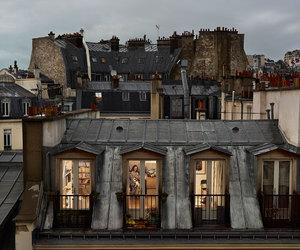 paris, city, and house image