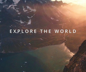 world, explore, and travel image