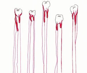 blood and teeth image