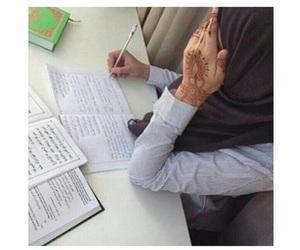 hijab and henna image
