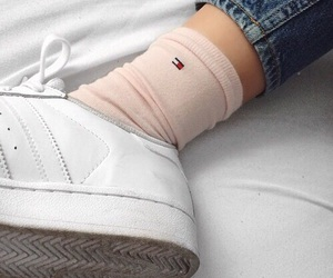 socks, aesthetic, and pale image
