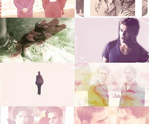 tvd, brothers, and damon image