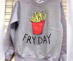 chips, sweater, and friday image
