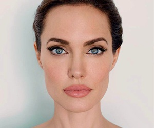 Angelina Jolie, beauty, and lips image