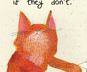 quotes, cat, and confidence image
