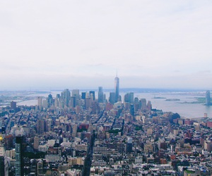 empire state, new york, and photography image