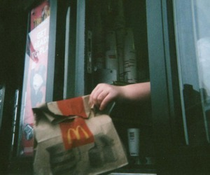 McDonalds, food, and indie image