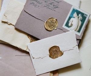 vintage, letters, and envelope image