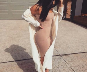 dress, pale, and chic image