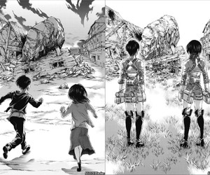 anime, manga, and shingeki no kyojin image
