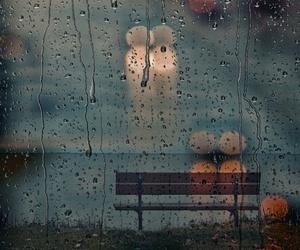 rain, photography, and raindrops image