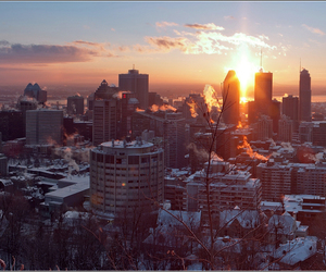 city, montreal, and panorama image