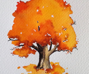 autumn, art, and drawing image