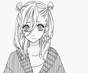 manga, anime, and anime girl image