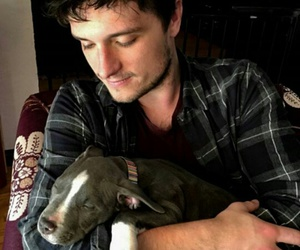 josh hutcherson, dog, and josh image