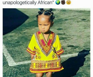 African and melanin image