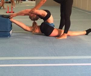 gymnast, progress, and sport image