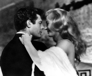 anita ekberg, gorgeous beyond belief, and marcello mastroianni image