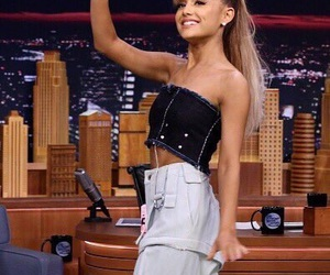 ariana grande, dangerous woman, and jimmy fallon image