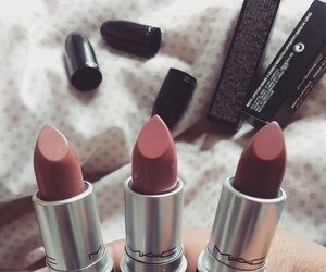 mac, lipstick, and makeup image